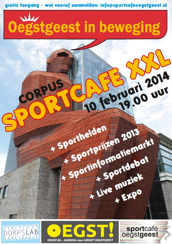 Save the date: maandag 10 februari 2014 Oegstgeest in Beweging 4